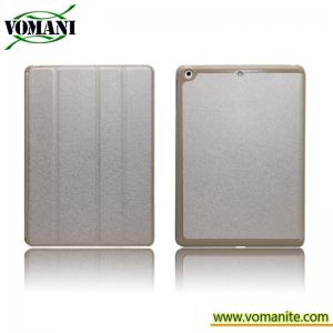 China Leathe case for ipad Air. Silk leather style for skin cover on sale