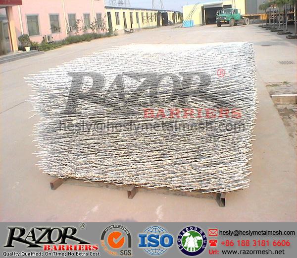 high security razor mesh