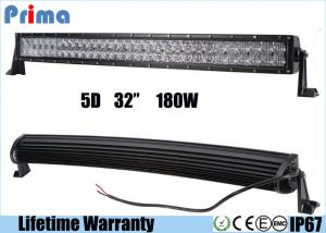 China 6000K 5D 32 Inch 180W Led Offroad Light BarFor Engineering Vehicles on sale