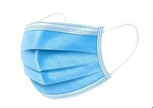 China Wave Blue 50pcs / Box PPE Personal Protective Equipment supplier
