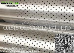 China China water/oil well casing pipe carbon steel with perforated ERW Pipes and Tubes on sale