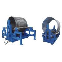 China Corrugated Steel Culvert Pipe Making Machine With 180 - 250mm and Bowl Machine on sale