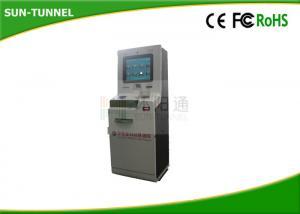 China Wireless Self Service Atm Financial Service Kiosk , Invoice Printing Digital Information Kiosk on sale