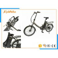 Fast 20 Inch Electric Folding Bike Bicycle With 36v Lithium Battery