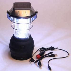 China Outdoor Solar Powered LED Garden Lights / 36 LED Solar Pathway Lights on sale
