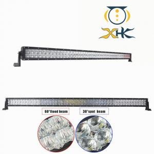 China High Intensity 5D Waterproof LED Light Bar , 52 Inch Combo Cree LED Light Bar on sale