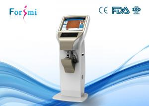 China White Skin Analyzer Machine For Deep Skin, Wrinkle, Speckles Analysis on sale