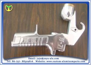 China Bright Silver Painting Equipment Of custom metal fabricators Aluminum Alloy Spray Gun on sale