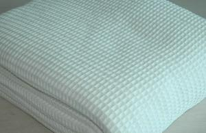China Machine Washable organic cotton receiving blanket Soft Touch , multi-seasonal use on sale