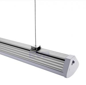 China 5 feet led linear light 60w ceiling pendant batten 42m linkable trunking system lamps on sale