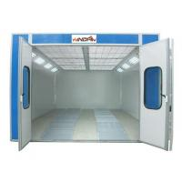 China Diesel Burner Auto Spray Booths Galvanized Steel Sheet Basement WD-904 on sale