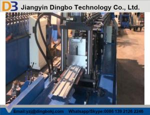China Curtain Fire Damper Frame Flange Metal Roll Forming Machines High Speed CE & ISO on sale