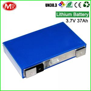 China NCM battery 3.7V 42AH lithium ion battery for car power backup on sale