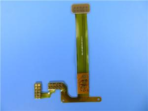 China Multilayer Flexible PCB 4 Layer FPC With FR4 Stiffener Immersion Gold on sale