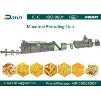 CE & ISO 9001 Macaroni Production Line WEG Motor With 3 Year Warranty