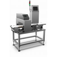 China High speed combined metal detection and check weigher machine for metal detection and weight sorting process on sale