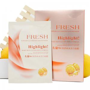 China Fresh vitamin c moisturizing facial masks ,whitening sheet mask on sale