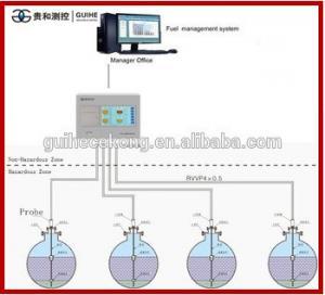 China petrol station fuel tank diesel oil level instruments magnetometer fuel level sensor  sensor floating level switch probe on sale