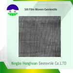 Recycled / Virgin PP Circle Loom High Strength Woven Geotextile Fabric For Reinforcement