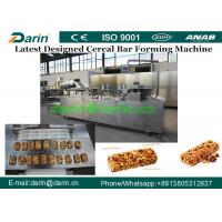 Multinational oat chocolate cereal fruits nuts candy bar moulding machine / Snacks Making Machine