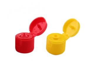 China Customized Colors Flip Top Dispensing Caps Universal Shampoo Bottle Cap on sale