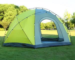 China Double Layer 3 Doors Camping Tent Waterproof 8 to 10 Person Big Camping Tent Outdoor Camping Dome Tent(HT6029) on sale