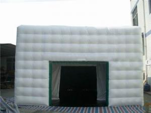 China inflatable cube exhibition booth tent for advertising on sale