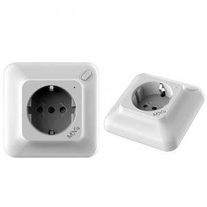 China German Standard Wifi Controlled Power Socket Customer Friendly Installation Design on sale