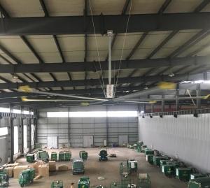 China High Large Workshop Air Cooling Ventilation HVLS Industrial Fans on sale