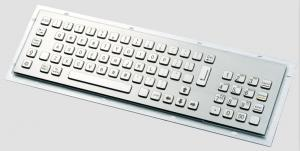 China ZT599 Series ATM / Kiosk Metal Keyboard For Gas Station / Parking on sale