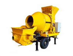 China Electric mini concrete mixer, diesel concrete mixer with pump, concrete trailer mixer pump on sale