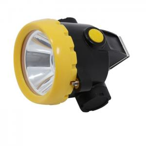 China 2.2Ah Safety LED mining Cap lamp Rechargeable Led Cap lights PC Lamp Body on sale