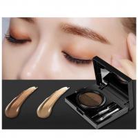 Professional Makeup Waterproof Eyebrow Gel Dubble Colors Air Eyebrow Cushion