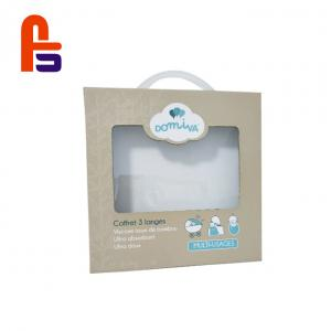 China Eco Friendly Thick Kraft Paper Packaging Box Coated Paper Materials 300gsm on sale