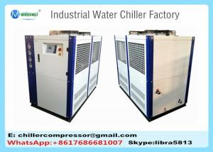 China 15hp Injection Molding Machine Water Chiller, Air Cooled Industrial Chiller on sale