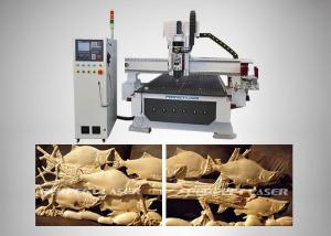 China 9kw High Accuracy Plate - Type Automatic Wood Router For Advertising Signs on sale