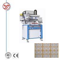 YO-5070 Single Color High Quality Card Screen Printing Machine