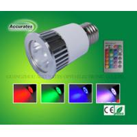 E27 5W  Led RGB Spotlight,wall lighting
