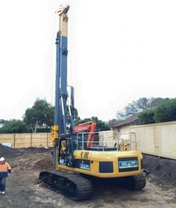 Bored Pile Driving Machine , KR150C Hydraulic Rig For Piling