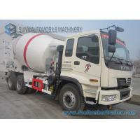 340 HP 10 Wheeler Foton Auman Concrete Mixer Truck 9000 Liters Agitating Lorry With VT Cab
