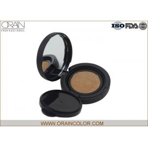 China Customized Natural Color Air Cushion Cream Compact Bb Cream Foundation In Puff on sale