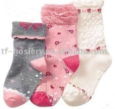 China Baby Jacquard socks on sale