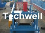 Rolo da folha do atarraxamento que forma a máquina com o Decoiler manual, hidráulico para o painel afilado de Bemo