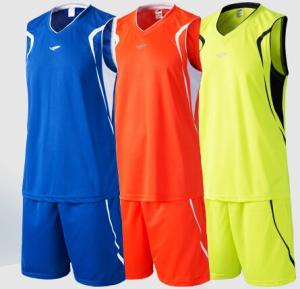 China Blue / Red / Yellow Custom Soccer Jerseys For Men Doing Excise , Fitness Custom Sleeveless Shirts on sale