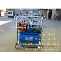 Diesel Engine And Electric Motor Cow Milking Machine With Jetter Tray Washing