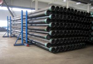 China ERW, SAW API Steel Pipe, J55, K 55, N80 L80 API 5CT Casing Pipes, API 5B Seamless Tube on sale