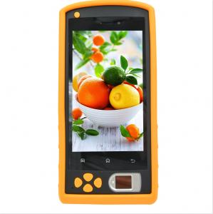 China 5 Inch SD Card Reader 2D Barcode Scanner Smartphone Handheld Terminal For Android With GPS on sale