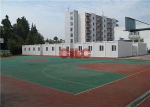 China 20ft 40ft Folding Modular Classroom Buildings Demountable Temporary Classrooms on sale