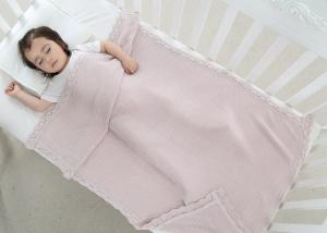 China Oblong Baby Room Bedding Sets Comfortable Patchwork Knitted Sleeping Covers on sale