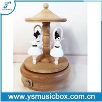 Wooden Music Box dancing ballerine Birthday Gift/Music Gift